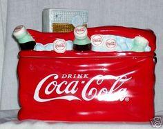 Coca Cola Cooler Cookie Jar