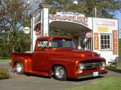 Custom 1956 Ford F-series pickup