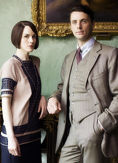 Lady Mary and Henry Talbot, Downton Abbey Downton Abbey Castle, Downton Abbey Movie, Downton Abbey Fashion, Downton Abbey Costumes, Downton Abbey Season 6, Masterpiece Theater, Lady Mary, Period Dramas, Newport Beach