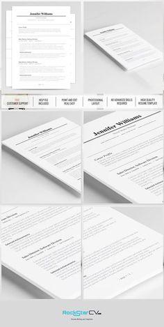 traditional resume template httprockstarcvcomproducttraditional resume