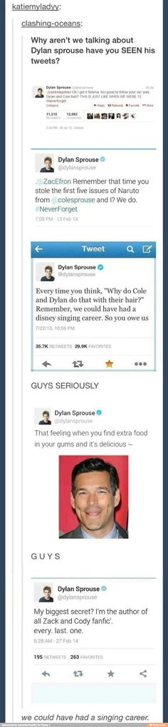 Dylan Sprouse is the best always has been always will be: