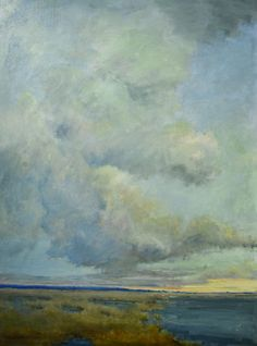 """Bethanne Kinsella Cople, """"Taking Flight"""" - 48 x 36, Oil on Canvas -- at Principle Gallery"""