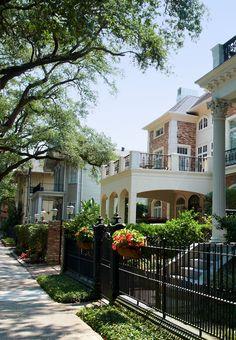 Garden district, New Orleans. Louisiana, USA.                                                                                                                                                      More
