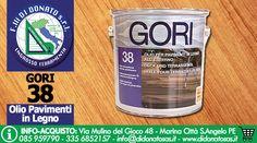 F.lli Di Donato | GORI 38 Olio per trattare Pavimenti e Superfici in Legno