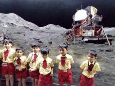 sr.kg students on fieldtrip to nehru planetorium.  #fieldtrip #planetarium learned about #sun #moon #planets #stars #satellites #globe #planetarysystem #science #geography #talent #students