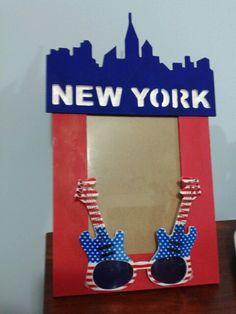 Diy new york frame
