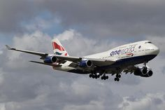 British Airways G-CIVK Boeing 747-436 25818 MIA Miami Airport 2012 One World c/s