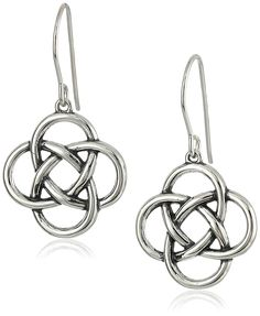 Sterling Silver Celtic Knot Earrings -- You can find out more details at the link of the image. (This is an affiliate link and I receive a commission for the sales)