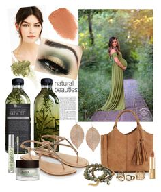 """""""Earthy Mama Maternity by Sew Trendy"""" by sewtrendy on Polyvore featuring AMBRE, Accessorize, Oasis, Humble Chic, Dee Berkley, Lime Crime, NARS Cosmetics, Dolce&Gabbana, Urban Decay and Ahava"""