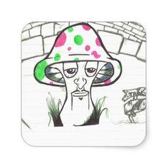 Mr. Shroom (Sketch) Sticker