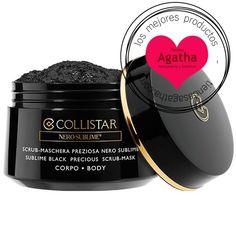 Collistar Sublime Black Precious Scrub-Mask Body es un producto especial para el cuidado del cuerpo contiene ingredientes beneficiosos para la regeneración.