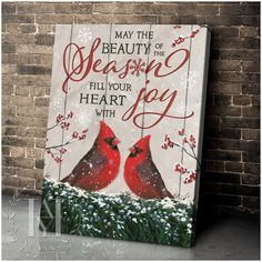 Christmas Wall Art Canvas Christmas Wall Art Canvas, Canvas Wall Art, Canvas Prints, Canvas Material, Beautiful Christmas, Cotton Canvas, Joy, Seasons, Crafts