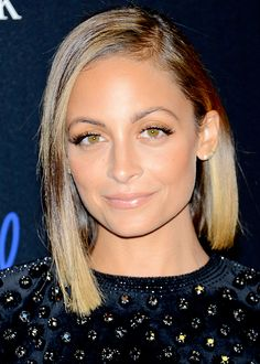 10 office-holiday-party beauty tricks: Nicole Richie's lob