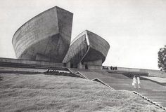 Karel Plicka Photographer. Link to the Gallery. (by Expo Socialism) Edit after massive surge of likes and reblogs: the building is the Museum of Slovak National Uprising (Múzeum SNP) in Banská Bystrica, Slovakia. Architect: Dušan Kuzma (wikipedia...