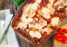 Vegane Lasagne ohne soja lecker einfach schnell fettarm gesund