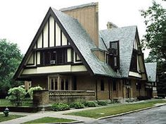 1895 - The Nathan G. Moore House, aka the Hans Christian Anderson House, 333 Forest Avenue, Oak Park IL.Wright did a remodeling after a fire destroyed much of the original house.  Left to Mary Hills when Nathan Moore died, Hills sold it in June 1947 to Milton and Mary Summerville. Sold to Bob Dugal.  Was open for seasonal public tours until 2001.