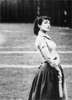 Maria Callas, 1956 Roma ©Getty Images