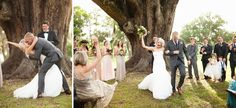 Love this shot of the bride's mom and bride with hands in the air! Ben Sasso Photography...Bo and Becca's Wedding