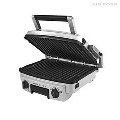 Big Boss 6-in-1 Stainless Steel Reversible 1500-Watt Grill at 60% Savings off Retail!