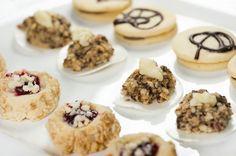 Son tradicionales en la época de navidad en Alemania. Coconut Cookies, Shortbread Cookies, Yummy Cookies, Tart Recipes, Sweet Recipes, Dessert Recipes, Chocolates, German Baking, German Desserts
