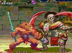 pixelclash: slam - Red Earth (Capcom - arcade - 1996)