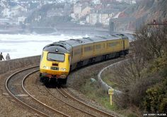 The Dawlish coastal section is one of the UK's most scenic stretches of line