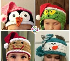 Flipped Over Headbands pattern by Heidi Yates Crochet pattern pack. Instructions to make all variations shown in bands adjustable to fit children to adult. Bandeau Crochet, Crochet Headband Pattern, Crochet Baby Hats, Crochet Beanie, Crochet For Kids, Free Crochet, Knit Crochet, Crochet Headbands, Crochet Vests