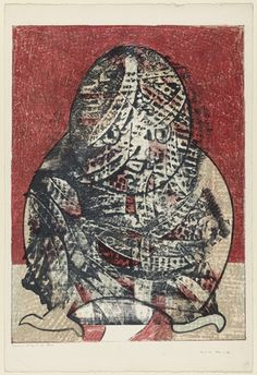 """Owl  Max Ernst, 1955  (French, born Germany 1891–1976) 