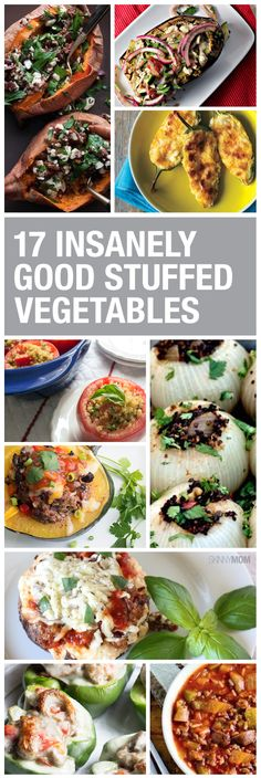 Invite friends and family to enjoy these tasty stuffed vegetable recipes.