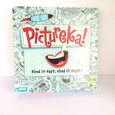 Pictureka Find It Fast Find It First Parker Brothers Board Game 2007 Complete #ParkerBrothers