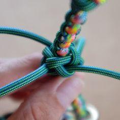 Paracord, Dog Tags, Macrame, Knots, Bracelets, Handmade, Jewelry, Button, Craft