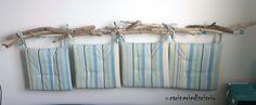 Wood idea for home. Bed idea.    Testata del letto fatta a mano con rami raccolti sulla spiaggia!    https://www.facebook.com/Carinerie.scisciu/   http://carineriediscisciu.blogspot.it/