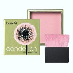 For a subtle colour, Dandelion, Benefit.*