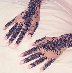 Most Elegant And Adorable Bridal Mehndi Designs Full Hands 2019 Pretty Henna Designs, Unique Mehndi Designs, Mehndi Designs For Hands, Henna Tattoo Designs, Bridal Mehndi Designs, Bridal Henna, Wedding Henna, Arabic Henna Designs, Wedding Hairs