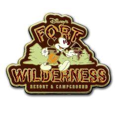Disney Pin- Fort Wilderness Resort & Campground Mickey