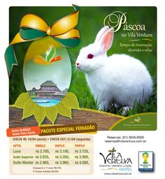 #Páscoa no #VilaVentura - Sua família merece este momento! www.vilaventura.com.br #ficaadica
