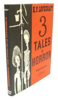 Three Tales of Horror by H.P. Lovecraft..  Sauk City, Arkham House. 1967, First Edition Limited to 1522 copies. Fine in like dustwrapper. A lovely copy of a book possessed of the rare luxury of being illustrated by Lee Brown Coye throughout. Very high production values for Arkham house, with each full page plate printed on coated paper.. Listed by Adrian Harrington Rare Books.  #arkhamhouse #lovecraft