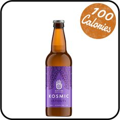 (and gluten free) Alcohol free Kosmic Stout from Nirvana Brewery offers a burst of deep chocolate joy for your palate. Hints of vanilla are well balanced by a smooth malted hop base. It lingers in the mouth like a comforting pudding, but it's only 100 calories for 500ml. Buy online from Dry Drinker. Downward Dog not compulsory. Gluten Free Alcohol, Alcohol Free, Low Alcohol Drinks, Alcoholic Drinks, Dry Drinker, Free Beer, Downward Dog, 100 Calories, Brewing Company
