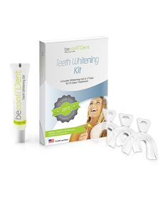 This Teeth Whitening Kit by BeconfiDent is perfect! #zulilyfinds