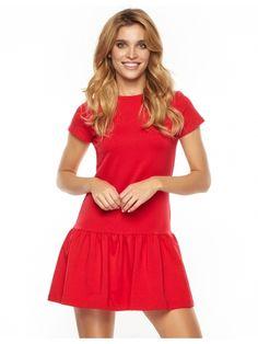 Sukienka Wendy w kolorze czerwonym