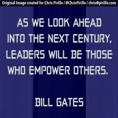 Are you empowering others? That's the sign of a true leader.     Today's photo quote brought to you by the team over at http://lockergnome.com