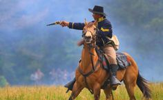 Battle of Mansfield reenactment