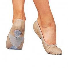 "Sansha Adult ""Silhouette-leather"" Ballet Slipper"