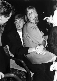 "Paul & Linda McCartney - his nickname for her was lily, ""lily i love you"" the sweetest thing"