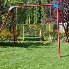 65 Best Metal Lifetime Big Stuff Swing Sets Images Backyard