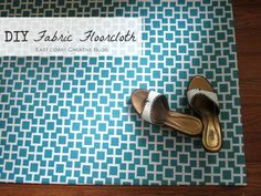 DIY Fabric Floorcloth | what will i do next