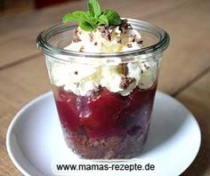 Schwarzwälder Kirschtorte im Glas | Mamas Rezepte - mit Bild und Kalorienangaben