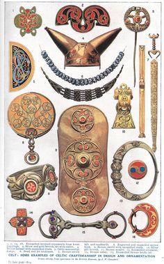 Celtic artifacts - Harmsworth's Universal Encyclopedia