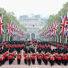 Trooping of the Colour. The annual celebration of The Queen's official birthday will be streaming LIVE! Enjoy the pageantry of Trooping The Colour Saturday at 5:30am ET. This live special event will be available ONLY on BritBox via your web browser. Not an early bird or want to watch it on your TV? The full celebration will also be available for catch-up viewing at 8:30am ET on any device. http://britbox.com