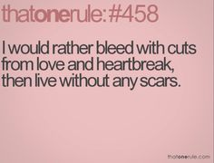 SCARS...
